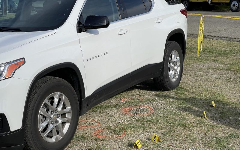 Man in stolen vehicle fires on police, killed in return fire