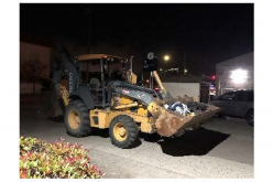 Monterey Police: Man connected to several recent burglaries after allegedly trying to steal tractor, construction equipment