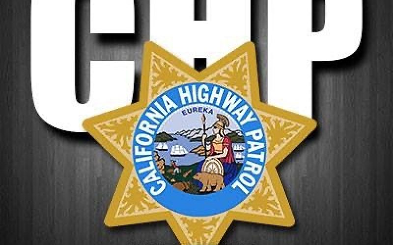 DRIVER ARRESTED AFTER THROWING OBJECT AT CHP OFFICER
