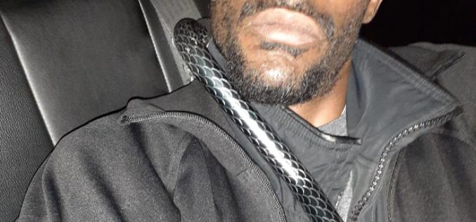 Black man assaults elderly Middle-eastern man