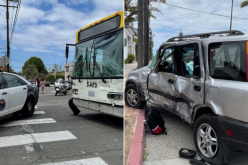 City Bus Stops Car Thief