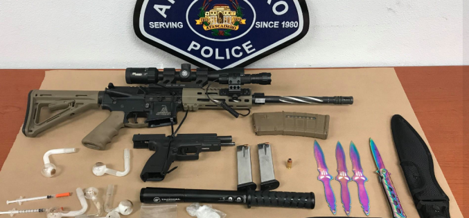 Weapons & Narcotics Arrest in Atascadero