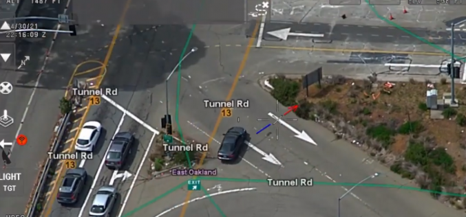 Helicopter, Berkeley PD Bike ForceOfficers Catch APD Pursuit Suspect