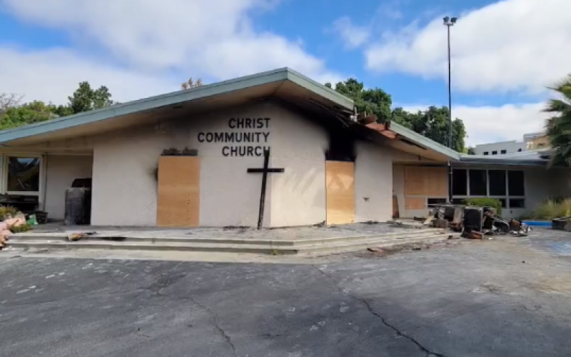 Troublemaker Arrested on Suspicion of Setting Church Fires