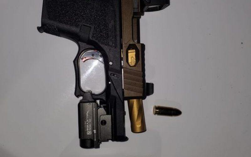 Man on probation carries gun and meth