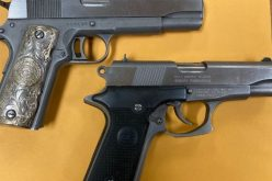 Two arrested at 4:00 am with drugs, guns