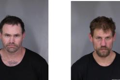 Two men arrested meth possession, pistol, ammunition