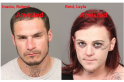 Two arrested in Grover Beach after allegedly being caught with stolen property
