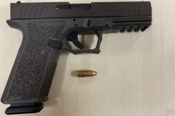 Man arrested for carrying 'ghost gun'