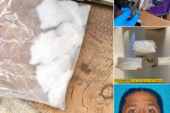 Man arrested for selling meth as he lived in a tent