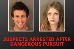 Couple with warrants recklessly flee, later arrested