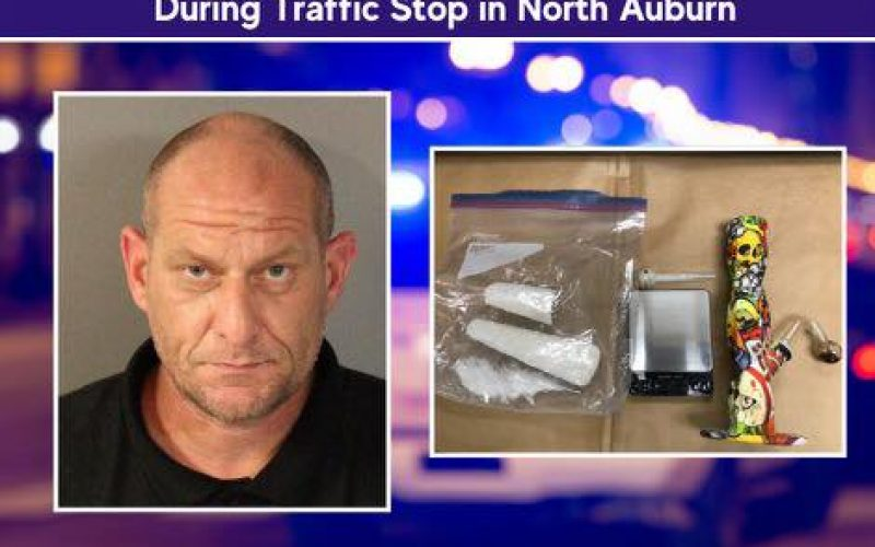 Bakersfield man arrested in Auburn with meth
