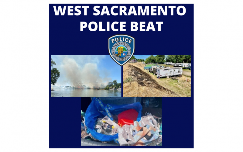 Police: Man accused of starting levee fire in West Sacramento