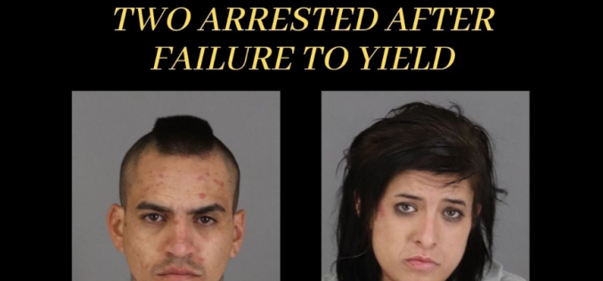 Pair arrested driving stolen truck after brief pursuit