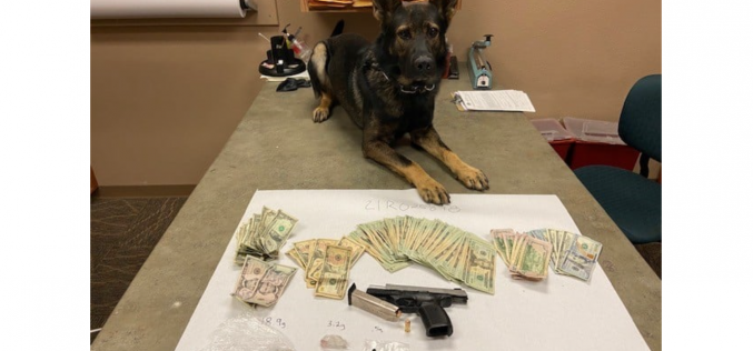 Redding Police: Man found passed out in vehicle with drugs, cash