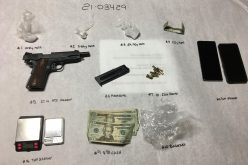 Man on probation with gun and meth
