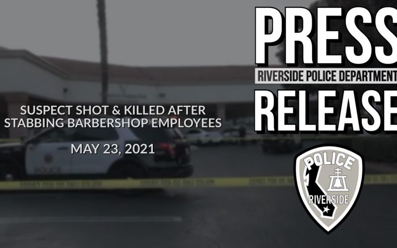 SUSPECT SHOT AND KILLED AFTER STABBING BARBERSHOP EMPLOYEES