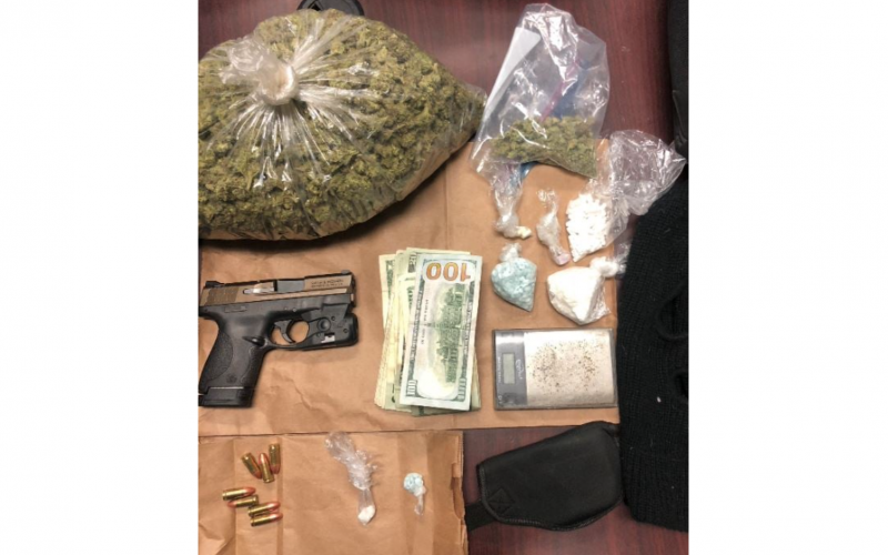 Police: Gun, cash, and a whole lot of weed found during traffic stop in Bakersfield
