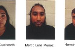 Three arrested in teenage girl's shooting