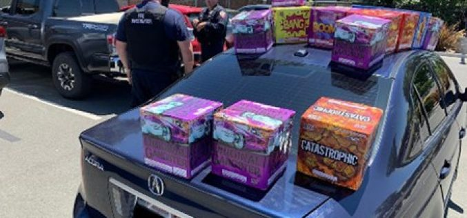 Undercover Investigators Make Arrests and Confiscate Illegal Fireworks