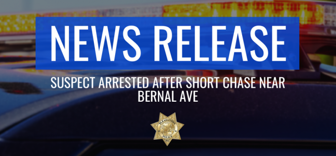 Felon Suspected of Crashing a Stolen Car after Fleeing from Safeway