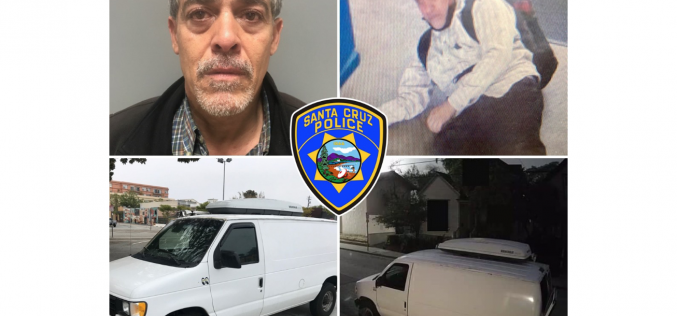 Santa Cruz Police: Burglary suspect had 7 outstanding warrants, cut off his ankle monitor