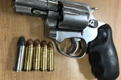 Probationer drives with loaded firearm, drugs, paraphernalia