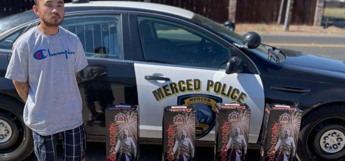 Gang Member arrested by Gang Unit with ammunition and illegal fireworks
