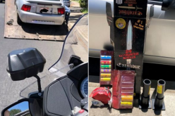 Reckless Driving Leads to Illegal Fireworks and 30 Day Impound