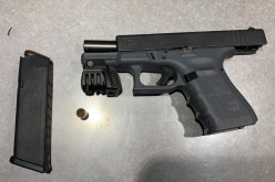 Man Arrested Downtown for Narcotics and Weapons Possession
