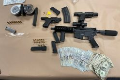 FOLLOW-UP INVESTIGATION/ ARRESTS MADE/ GUNS, NARCOTICS, & STOLEN PROPERTY SEIZED:
