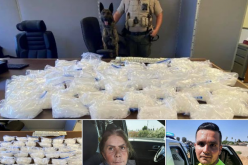 TCSO K9 Tex Leads Deputies to 51 pounds of Meth