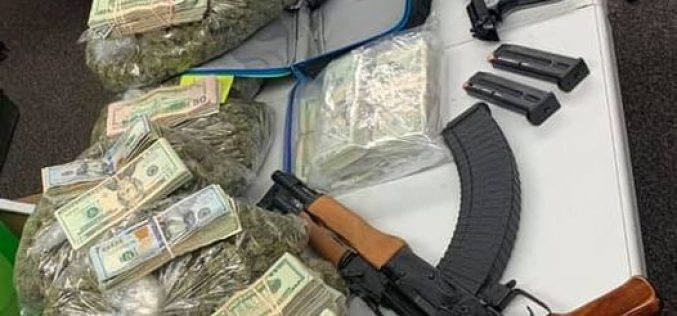 TCSO Detectives Find Drugs, Guns, Ammo & Over $100,000 Cash During Search Warrants