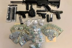 Two People Arrested for Narcotics & Firearms Trafficking