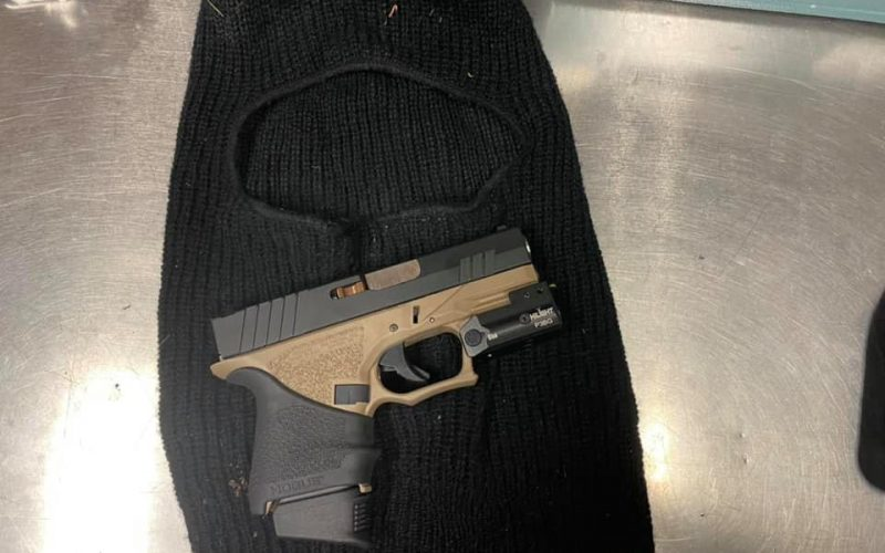 Two Firearms Seized in Different Incidents