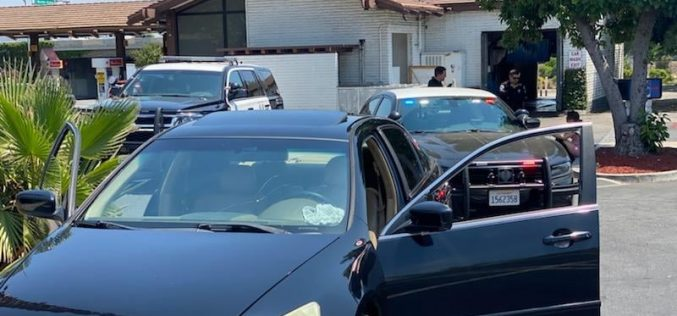 Suspected Serial Porch-Pirate Nabbed with Numerous Evidence – Booty in Back Seat