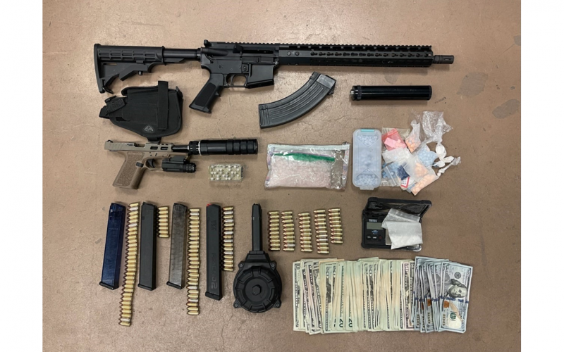 Kern County Sheriff's Office issues press release on recent stolen vehicle, weapon, drug arrests
