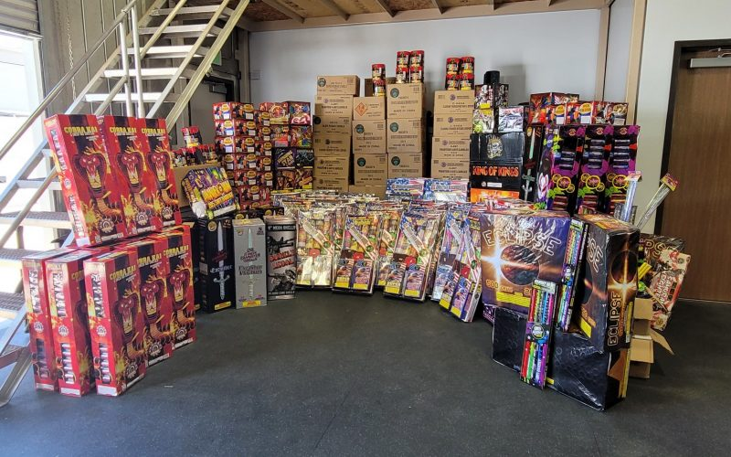 ILLEGAL FIREWORKS OPERATION
