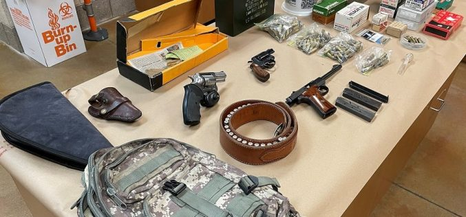 Sheriff's Office: Firearms, ammo, and counterfeit money discovered during traffic stop
