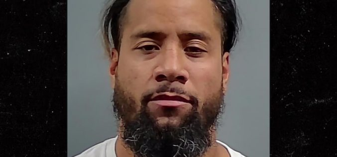 WWE'S JIMMY USO ARRESTED FOR DUI AGAIN … Cops Say Wrestler Blew A .205