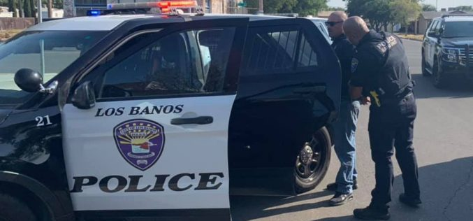 Los Banos man taken into custody after alleged armed road rage incident