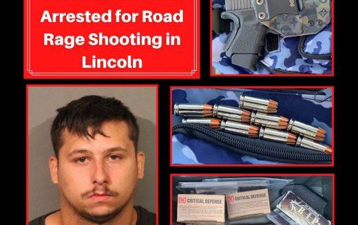 Road rage suspect shoots at victim's car