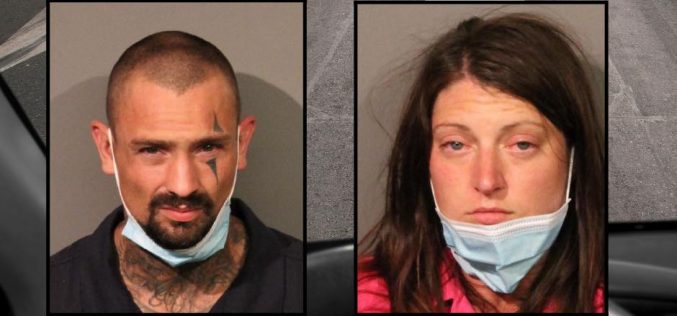 Couple arrested after high speed pursuit