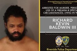 ARREST MADE IN VALENTINE'S DAY HOMICIDE