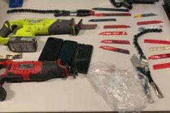 Catalytic converter thieves caught in underground parking garage