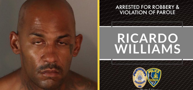 Man arrested on suspicion of armed robbery of Riverside Target store