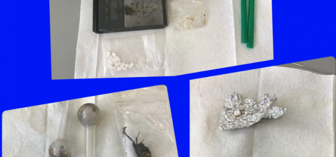 Pair arrested with various drugs in car
