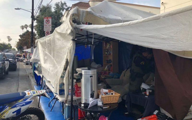 LASD's Shut-Down, Homeless Enterprise PCP and Meth Street-Biz Tent
