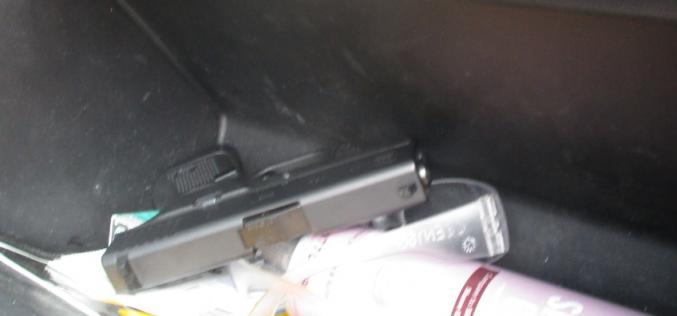 Loaded Glock located in stopped Silverado