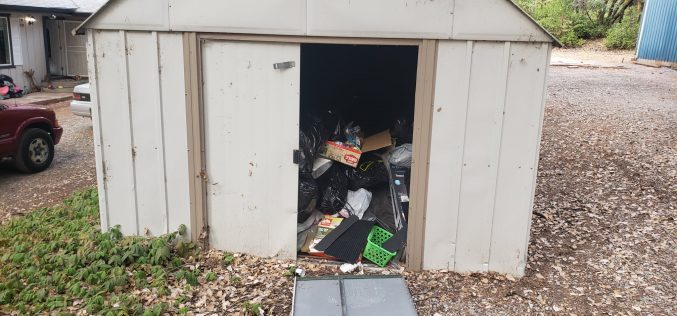 Trashy squatters ousted from house not their own